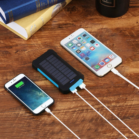 Keep Phones Charged All Day While On Outdoor Adventures