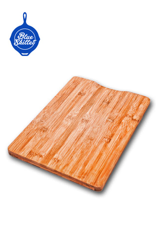 Bamboo Cutting Board and Professional 3 Piece Knife Set