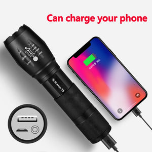 Mini LED Flashlight/Powerbank