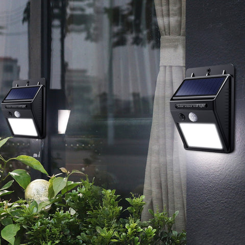 Solar Powered Motion Sensor Street Light