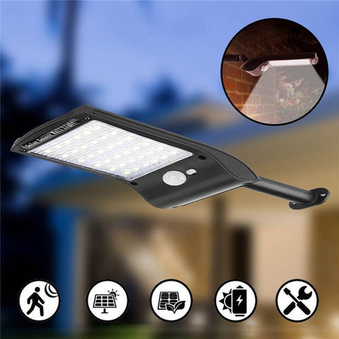 LED Solar Power Street Lights with Motion Sensor