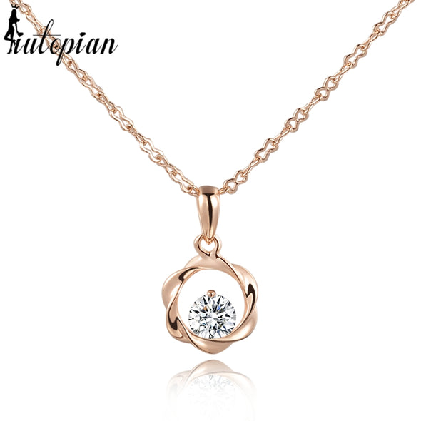 Iutopia Pendant Necklace for Women Made With Austrian Crystal Stellux