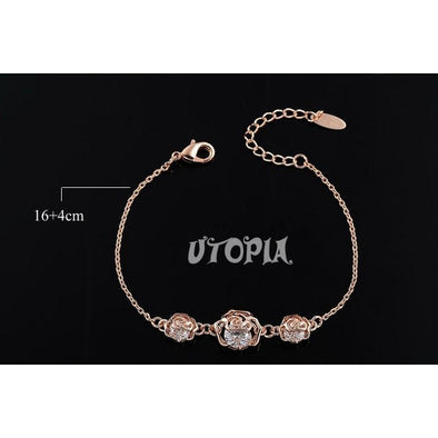 Rose Diamond Bracelet