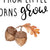 Mighty Oaks From Little Acorns Grow Print - Hunter & Lola