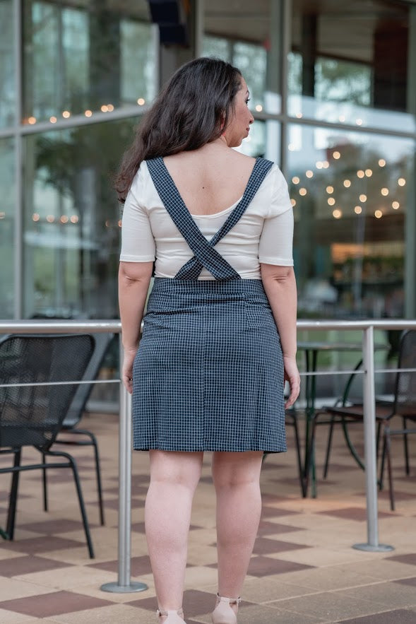 Draw The Line Overall Dress