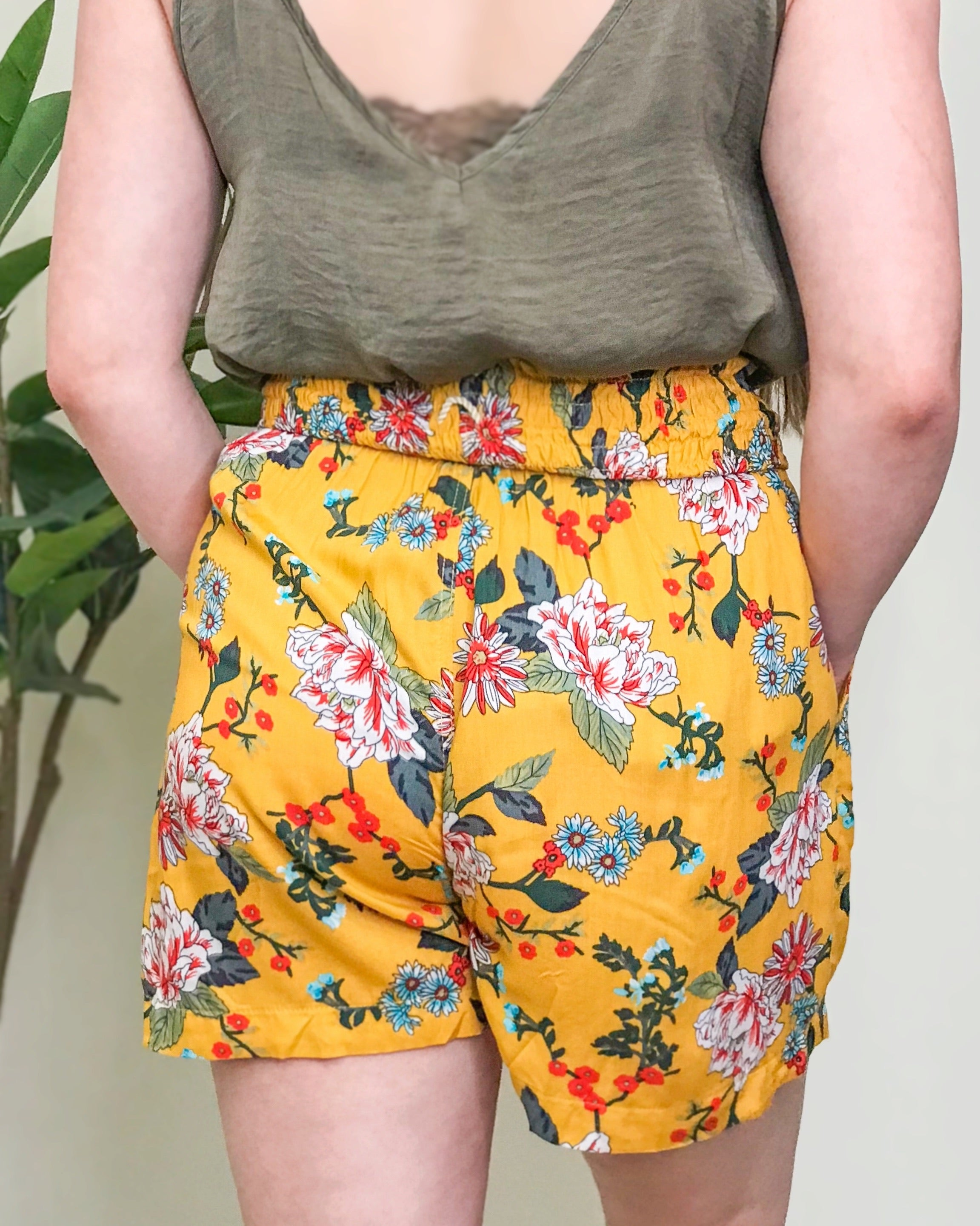 High Hopes Floral Shorts