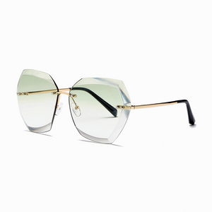 The Always Transparent Sunglasses Green - Youthly Labs