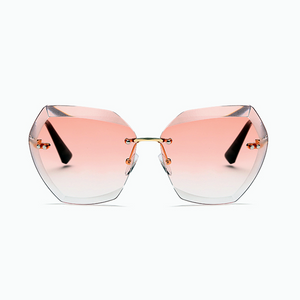 The Always Transparent Sunglasses Pink - Youthly Labs
