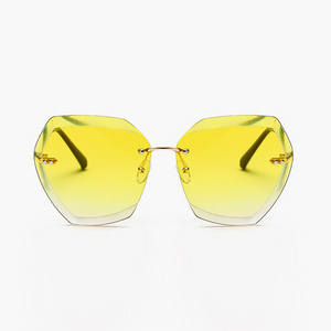 The Always Transparent Sunglasses Yellow - Youthly Labs