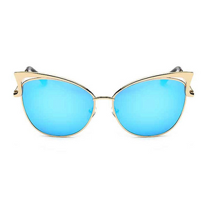 The Angel Wing Sunglasses Blue - Youthly Labs