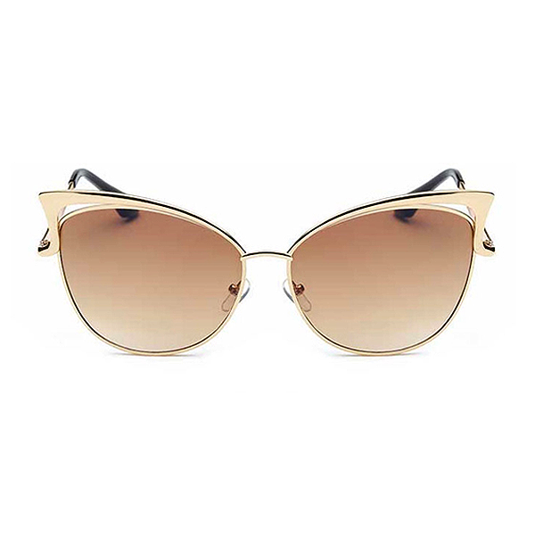 The Angel Wing Sunglasses Brown - Youthly Labs