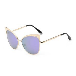 The Angel Wing Sunglasses Purple - Youthly Labs