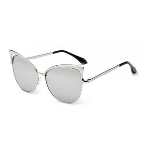 The Angel Wing Sunglasses Silver - Youthly Labs