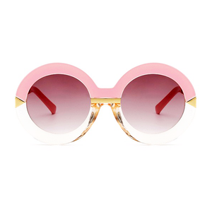 Pink Arrow Round Sunglasses - Youthly Labs