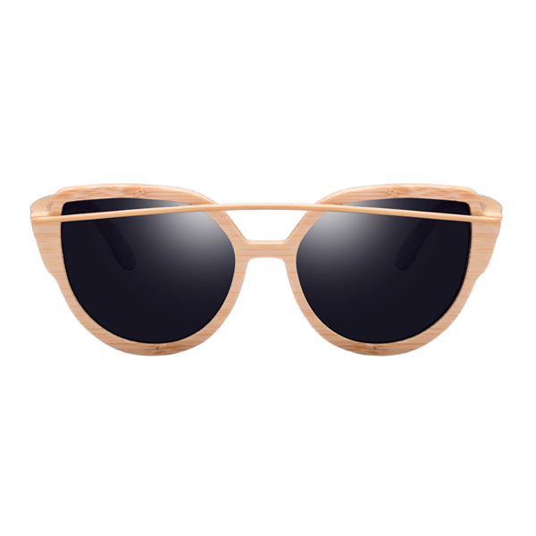 The Balcony Bamboo Sunglasses Black - Youthly Labs