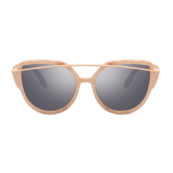 The Balcony Bamboo Sunglasses Gray - Youthly Labs