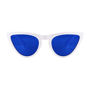 The Kitty Bridge Sunglasses Blue White - Youthly Labs