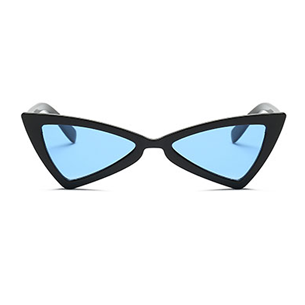 The Bowtie Sunglasses Blue Black - Youthly Labs