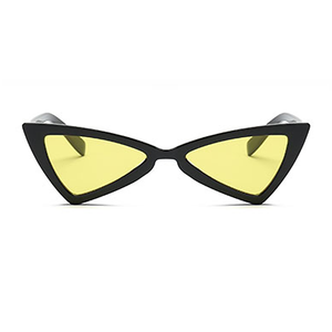 The Bowtie Sunglasses Yellow Black - Youthly Labs