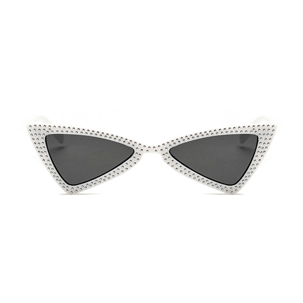 The Bowtie Bling Sunglasses White - Youthly Labs