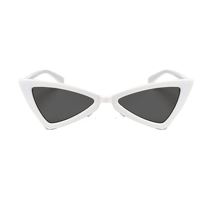 The Bowtie Sunglasses White - Youthly Labs