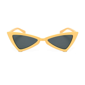 The Bowtie Sunglasses Yellow - Youthly Labs