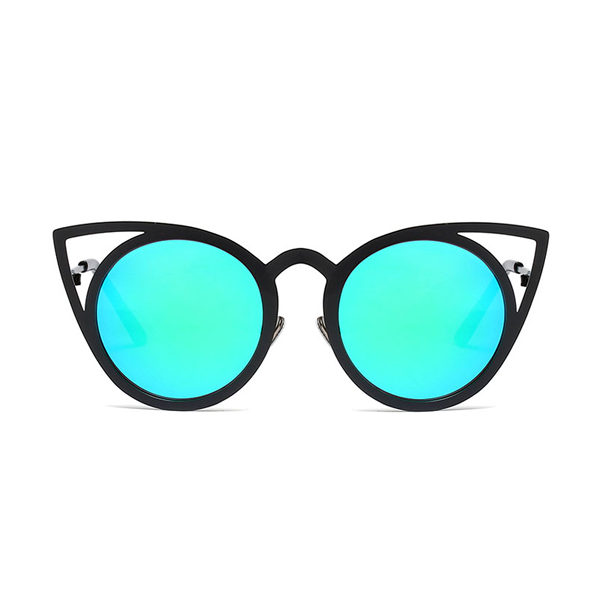 Cat in the Mirror Sunglasses Blue Black - Youthly Labs