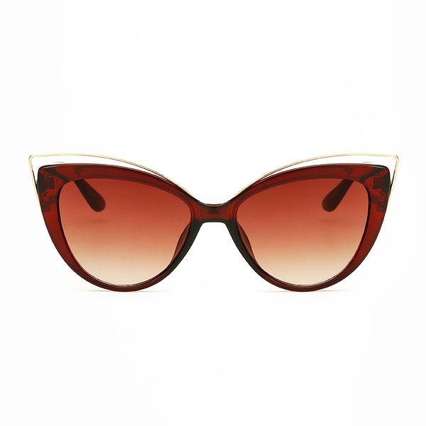 The Charming Cateye Sunglasses Brown - Youthly Labs