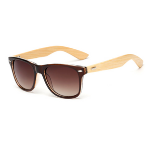 The Classical Bamboo Sunglasses Brown - Youthly Labs