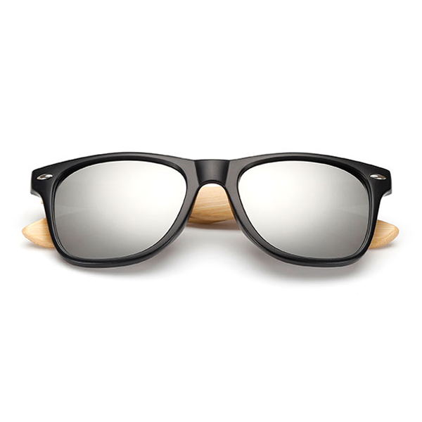 The Classical Bamboo Sunglasses Silver - Youthly Labs