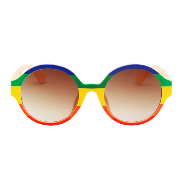 The Color Stripes Sunglasses Rainbow - Youthly Labs