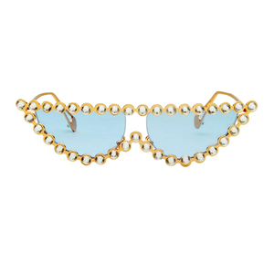 The Crystal Cat Sunglasses Blue - Youthly Labs