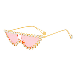The Crystal Cat Sunglasses Pink - Youthly Labs