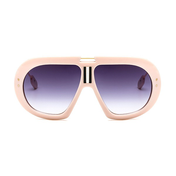 The First Class Pilot Sunglasses Beige - Youthly Labs