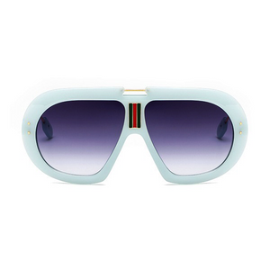 The First Class Pilot Sunglasses Mint Green - Youthly Labs
