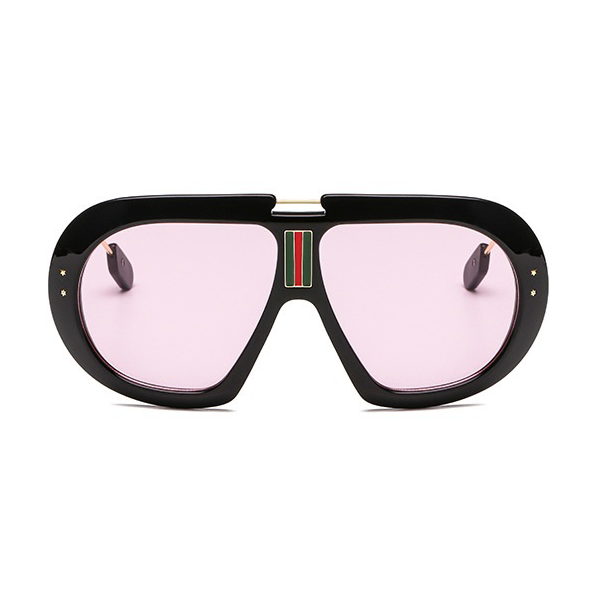 The First Class Pilot Sunglasses Pink Black - Youthly Labs