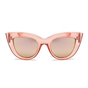 The First Kitty Sunglasses Clear Pink - Youthly Labs