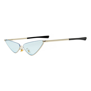 The Flamboyant Wings Sunglasses Blue - Youthly Labs