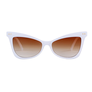 The Flashy Kitty Sunglasses White - Youthly Labs