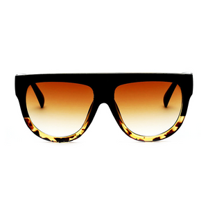 The Flat Top Classic Sunglasses Leopard - Youthly Labs