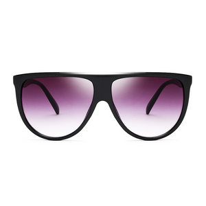 Flat  Top Goddess Sunglasses Black - Youthly Labs