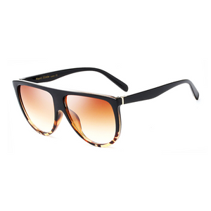 Flat  Top Goddess Sunglasses Leopard - Youthly Labs
