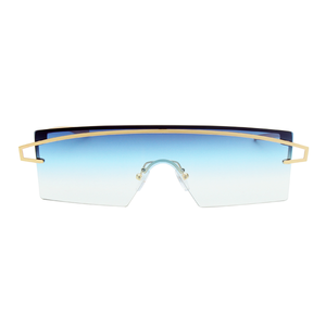 The Future Sunglasses Blue Gray - Youthly Labs
