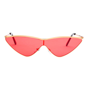 Future Vibes Sunglasses Red - Youthly Labs