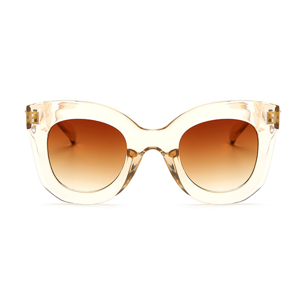 The Gentle Kitty Sunglasses Clear Brown - Youthly Labs