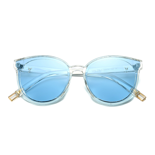 The Graceful Kitty Sunglasses Clear Blue - Youthly Labs