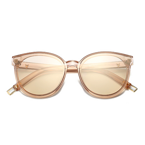 The Graceful Kitty Sunglasses Clear Brown - Youthly Labs