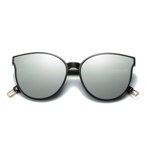 The Graceful Kitty Sunglasses Silver - Youthly Labs