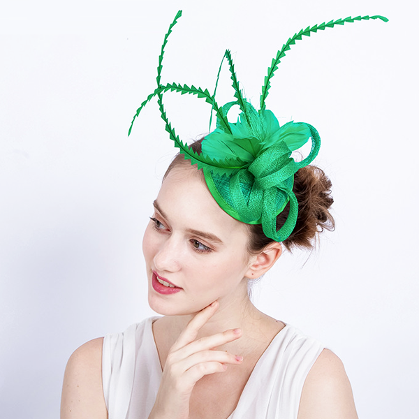Green Bird of Paradise Fascinator - Youthly Labs