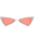 The Bowtie Bling Sunglasses Red White - Youthly Labs